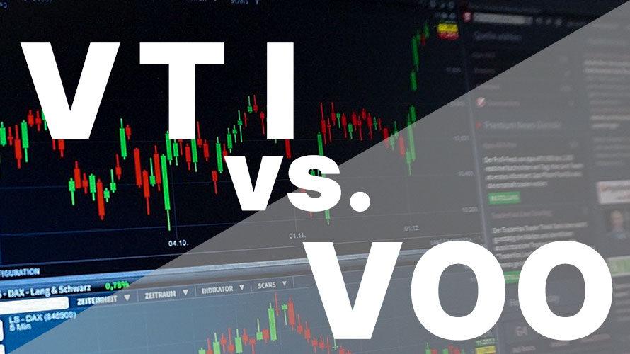 【分析してみた】VTI vs VOO 投資に最適なのはどっち?【1988年4月-2021年1月】